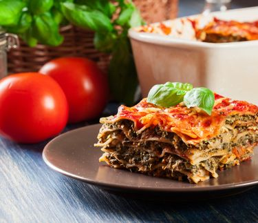 EASY VEGETARIAN LASAGNE