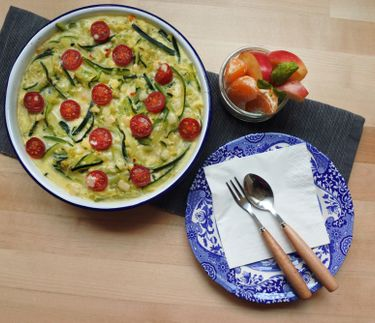 QUICK COURGETTE FRITTATA