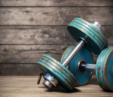 Dumbbells are a key part of any good workout