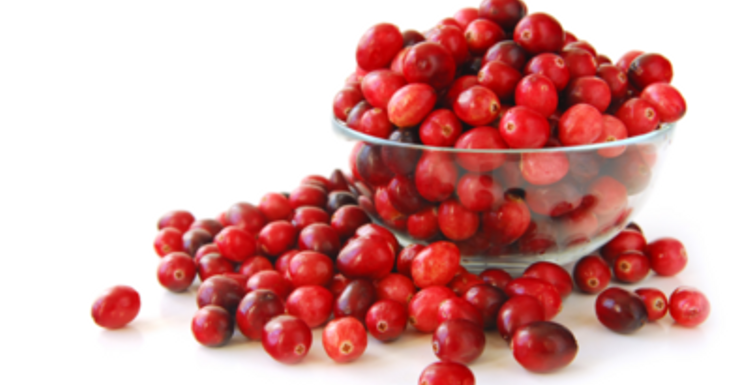 Cranberries keep you in the pink
