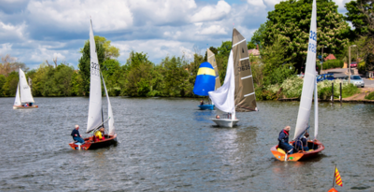 Fitness afloat - exercise on the water