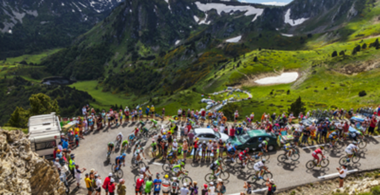 Tour de France and beyond. Cycling inspiration