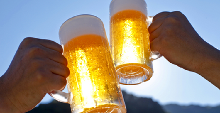 Raise a glass to the health benefits of beer