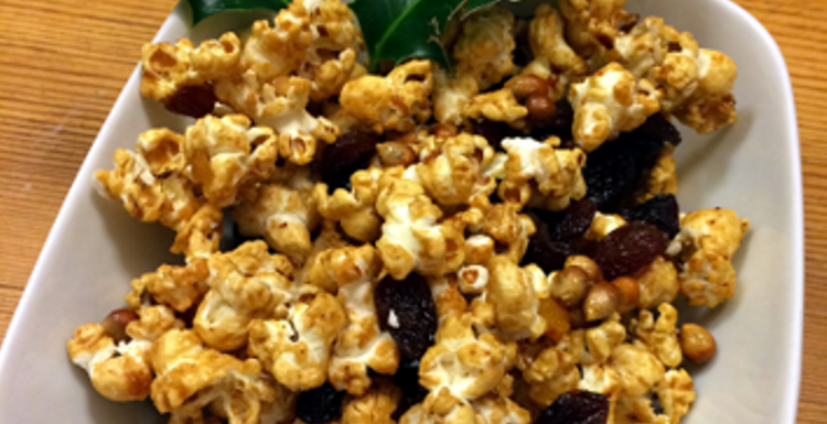 Christmas Popcorn Recipes.Healthy Recipes Mince Pie Popcorn Low Calorie Christmas