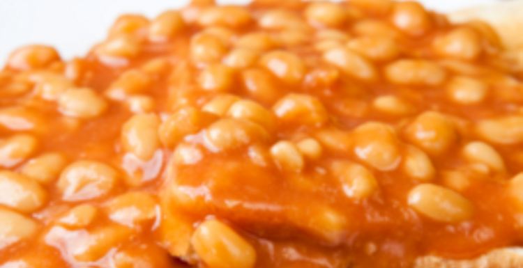 The humble baked bean. A nutritious power packed meal in a tin