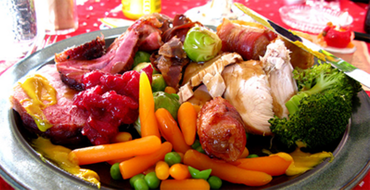 5 tips for a healthy Christmas dinner