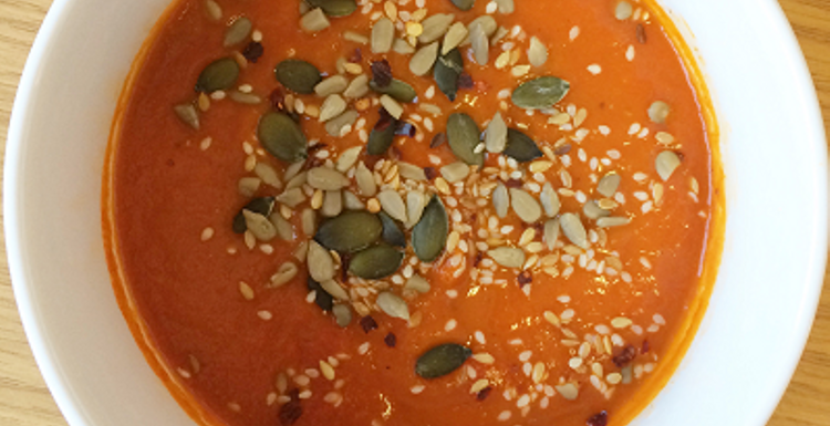 Healthy Recipes: Roasted red pepper soup
