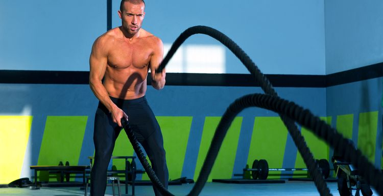 Heavy Rope Training: Combine strength and cardio
