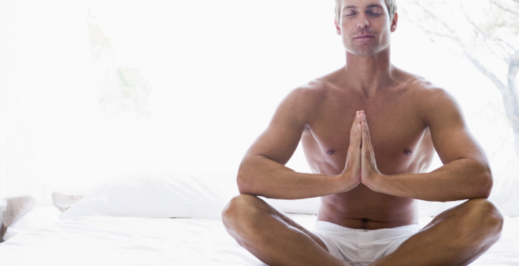 Yoga to de stress your body mind and spirit