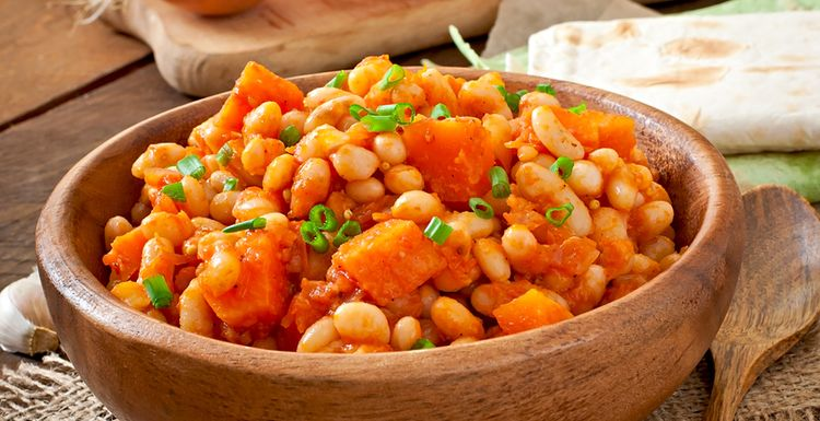 Delicious pumpkin and white bean stew recipe