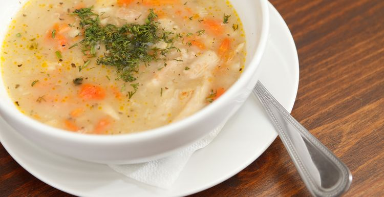 Easy, warming chicken soup for the soul
