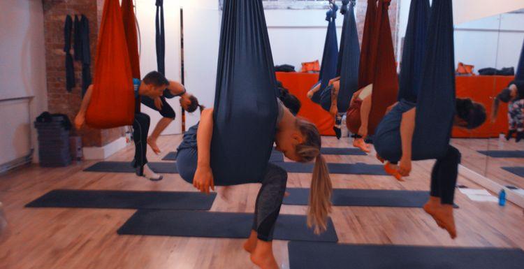 Class Takeover - AntiGravity Yoga
