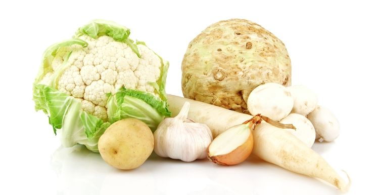 CAN WHITE VEGGIES CUT STOMACH CANCER?