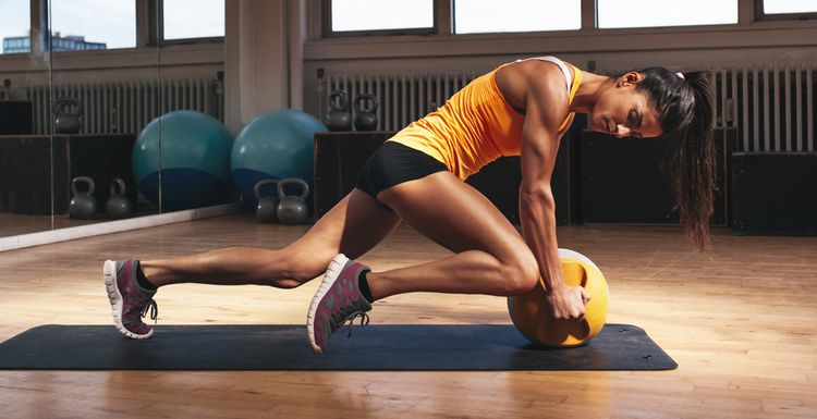 Exercise 101: The Medicine Ball Clean