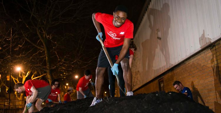 Up the Feel Good factor with GoodGym