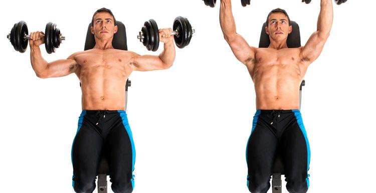 Exercise 101: dumbbell overhead press