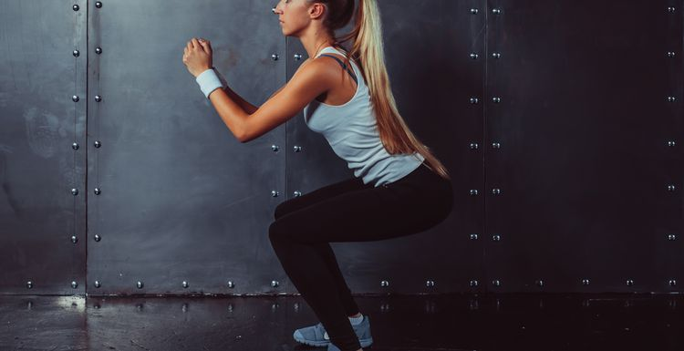 Exercise 101 : squats for your thighs