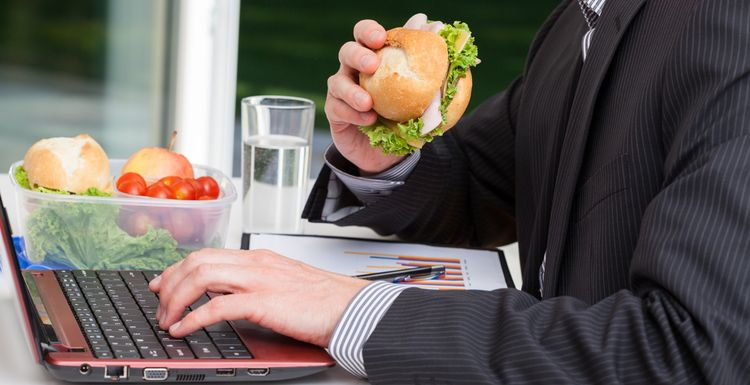 IS YOUR WORK STRESS FEEDING YOUR EATING HABITS?