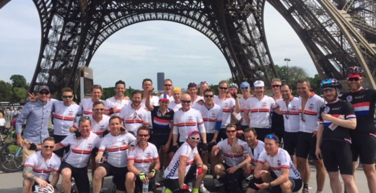 Cycle challenge London to Paris in 24 hours