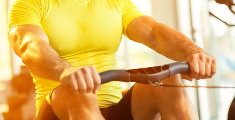 EXERCISE 101- THE ROWING MACHINE