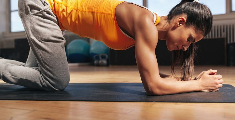 SPEEDY WORKOUT FOR YOUR BEHIND AND CORE
