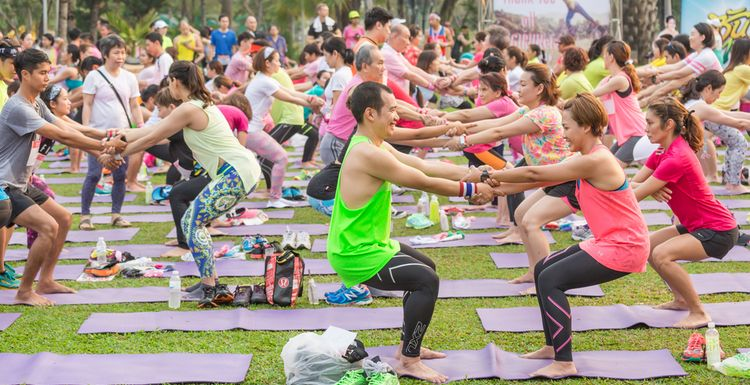 ARE FITNESS FESTIVALS THE FUTURE?