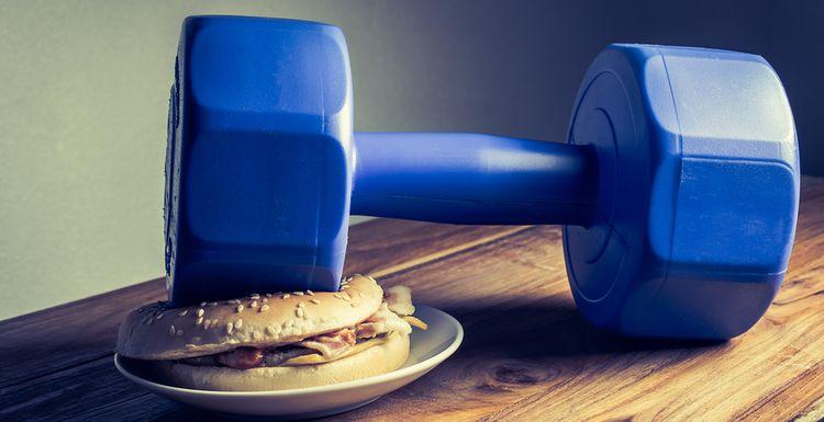 Keeping Healthy: Diet versus Exercise