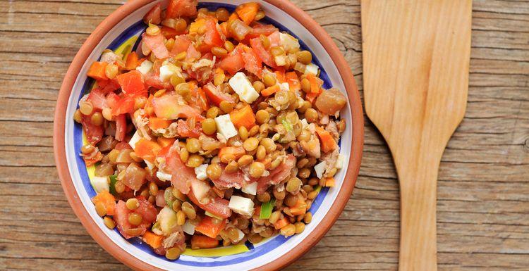 High protein Tuna and Black Bean Salad