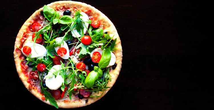 SUPER HEALTHY PIZZA RECIPE