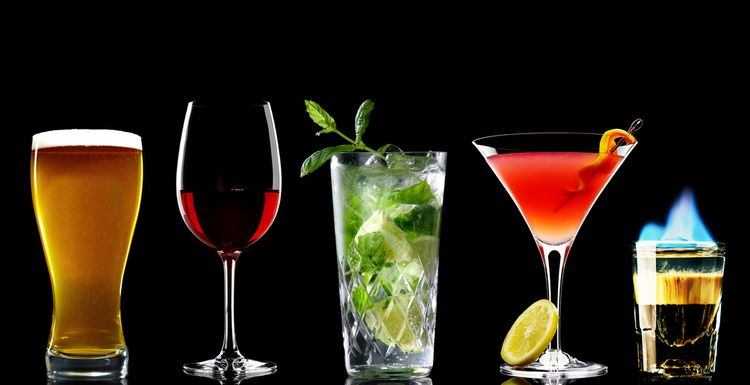 THE LOWEST CALORIE ALCOHOLIC DRINKS