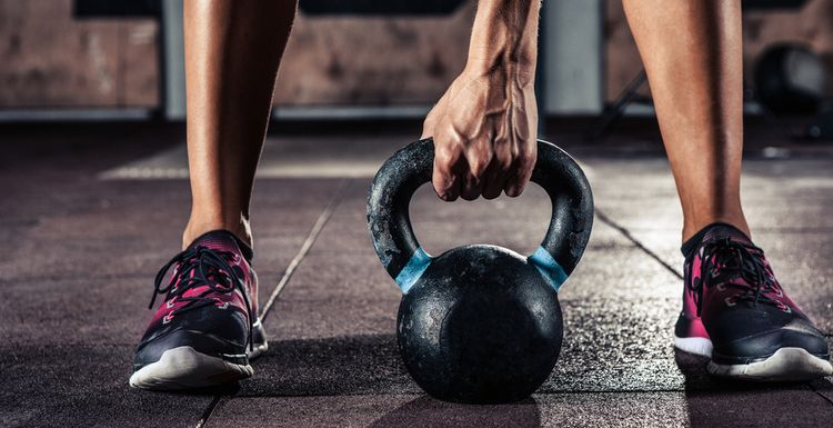 5 kettlebell moves for a quick full body workout