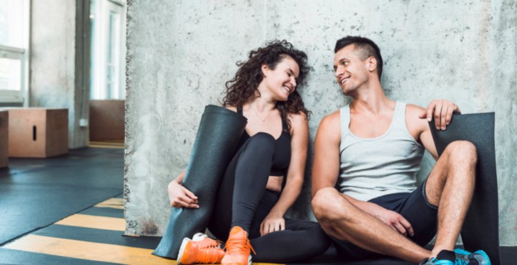 Get those hearts pumping! 4 Exercises to do with your partner on Valentine's Day