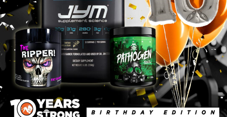Predator Nutrition celebrates 10 years with epic giveaways