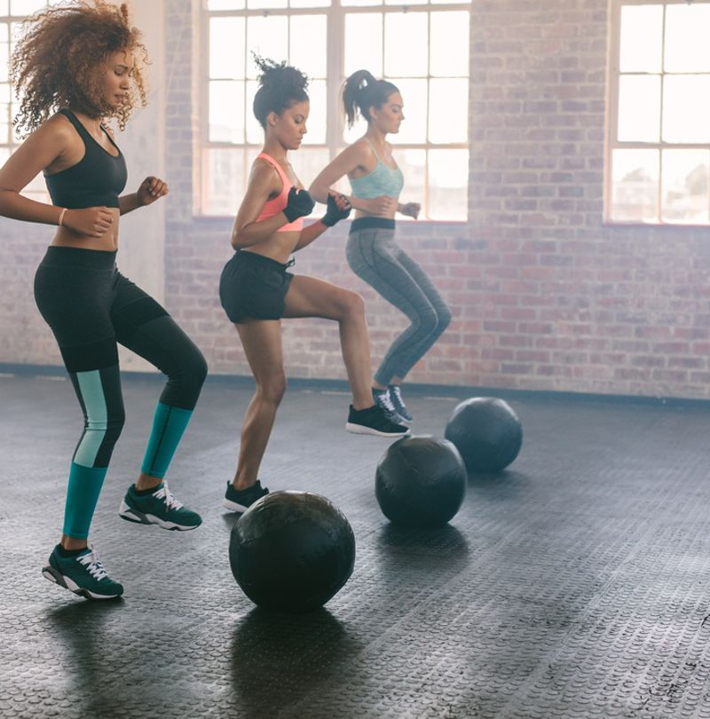 MOST WOMEN ARE NOT HITTING RECOMMENDED EXERCISE GUIDELINES