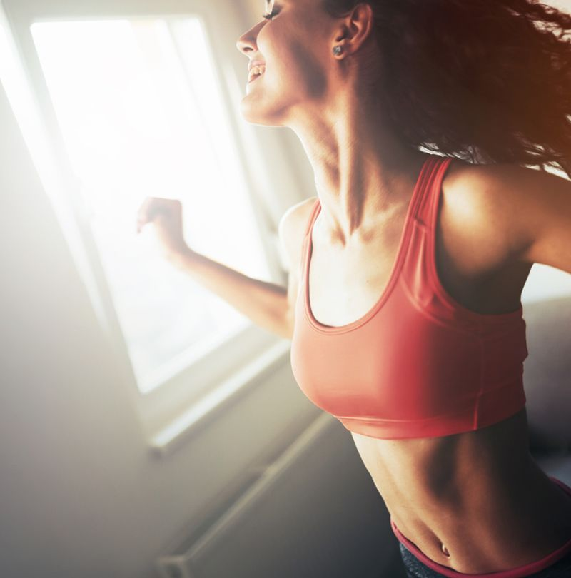 EXERCISE BOOSTS CONFIDENCE AND WELL BEING