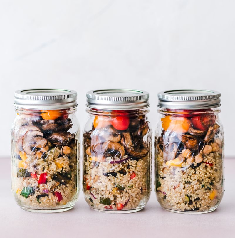 Delicious, easy vegan meal you can prep and store