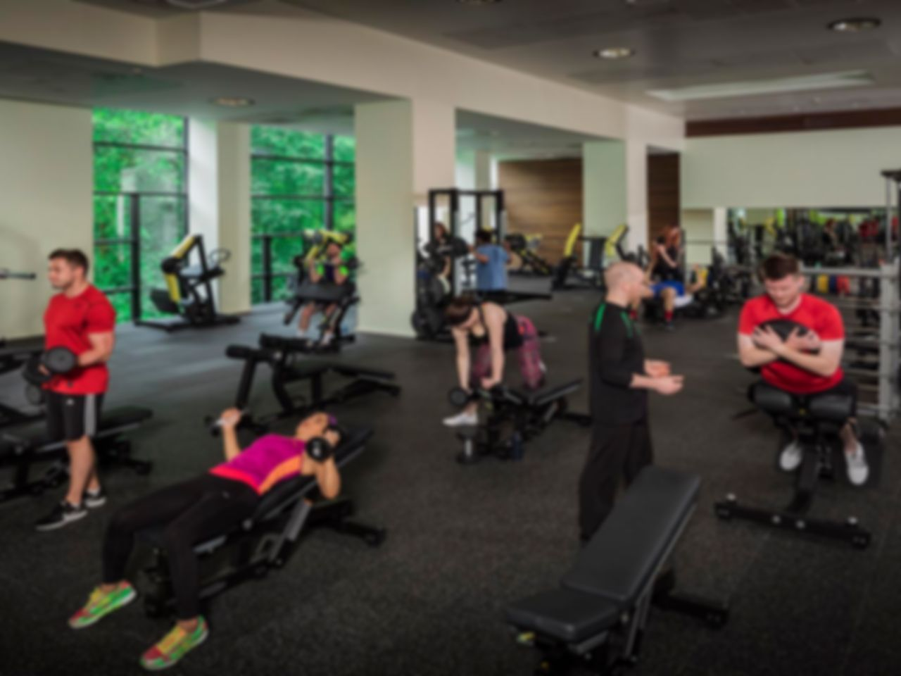Nuffield Health Edinburgh Fountain Park Fitness Wellbeing Gym Flexible Gym Passes Eh11
