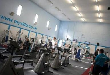 GYM EQUIPMENT AT VIDA HEALTH AND FITNESS OXFORD