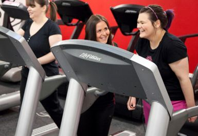 TREADMILLS AT ENERGY MILL GYM BRADFORD