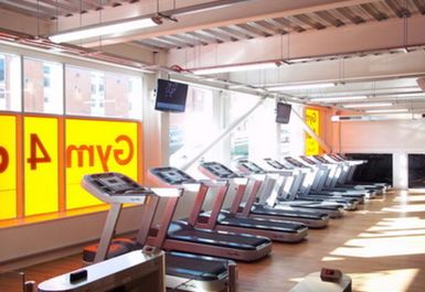 Treadmills at Gym4all Nottingham