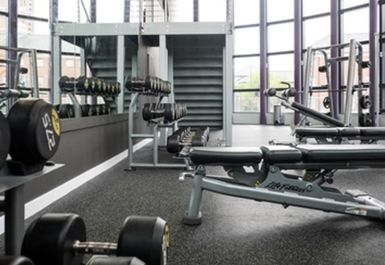 free weights at Anytime Fitness Leeds
