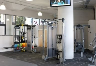 main gym area at Anytime Fitness Leeds