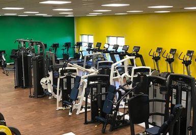 Gym at Jeffrey Humble FC