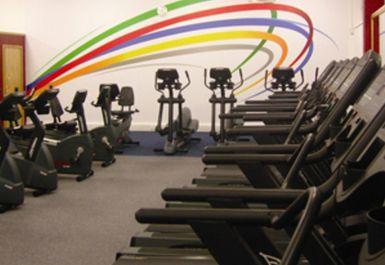 treadmills at Belle Vue Leisure Centre Manchester