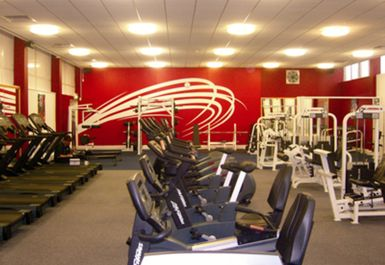 main gym area at Belle Vue Leisure Centre Manchester