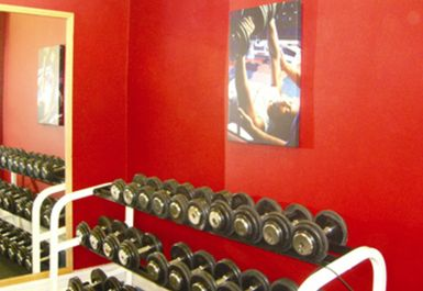 free weights at Belle Vue Leisure Centre Manchester