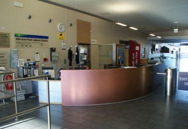 reception at Mile End Park Leisure Centre