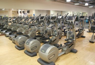 cross trainers at Mile End Park Leisure Centre