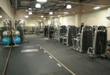 main gym area at Mile End Park Leisure Centre