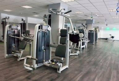 GYM EQUIPMENT AT LEYTON LEISURE CENTRE LONDON